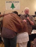 Chuck Pierce prophesying over Jody & LaNora